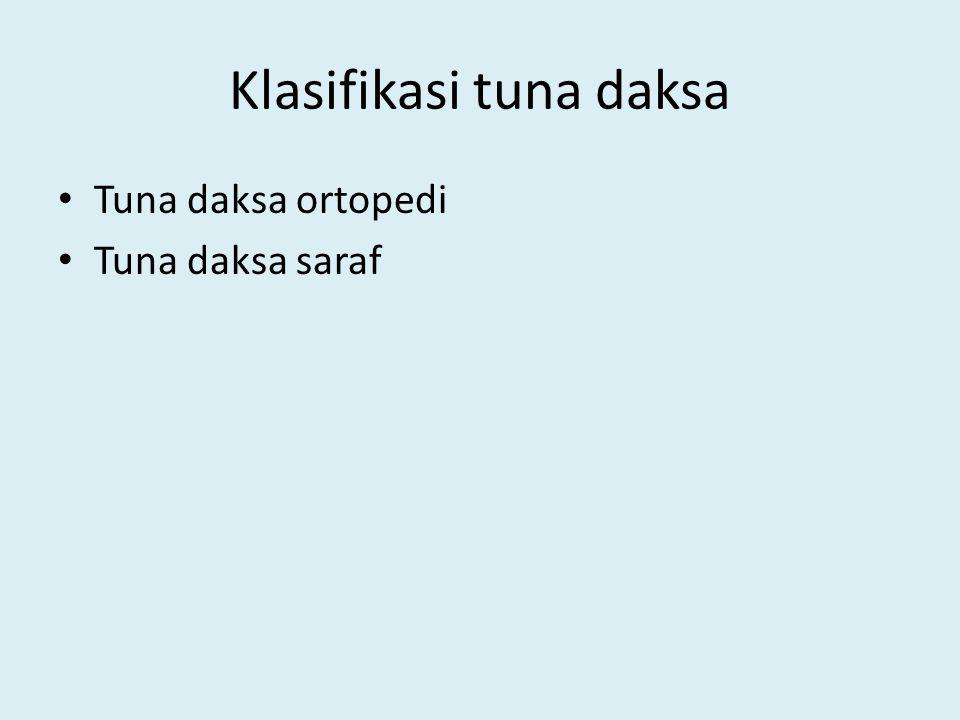 Klasifikasi tuna daksa