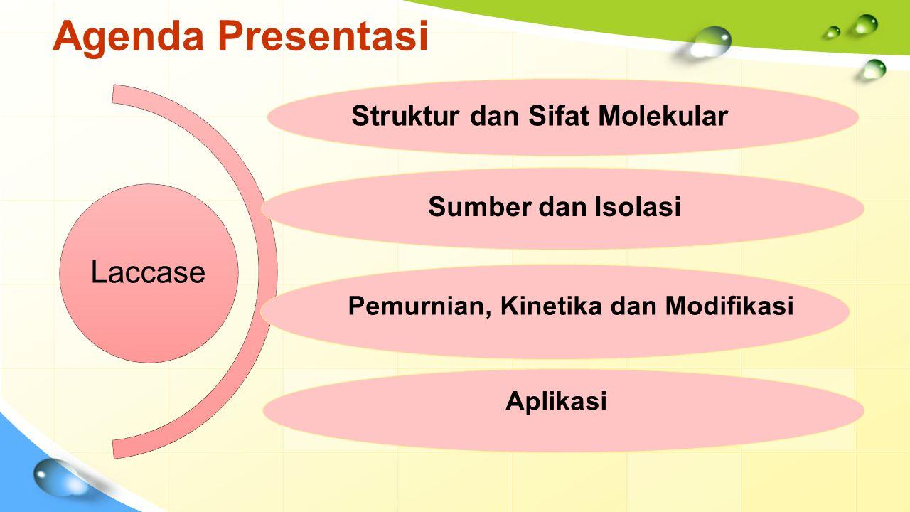Struktur dan Sifat Molekular Pemurnian, Kinetika dan Modifikasi