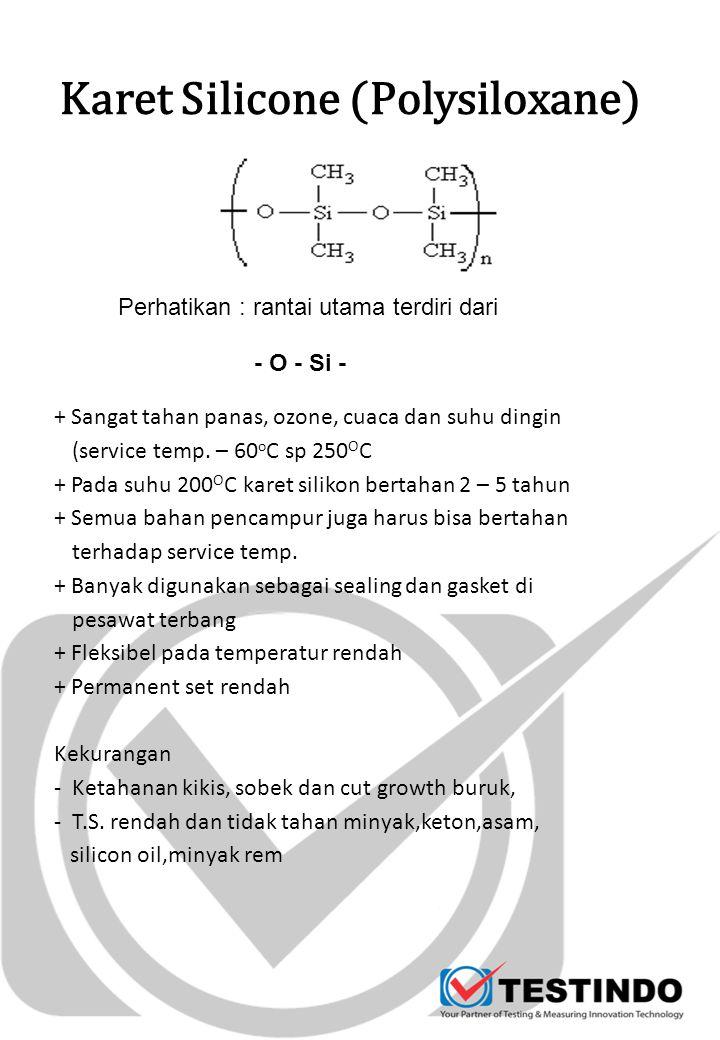 Karet Silicone (Polysiloxane)