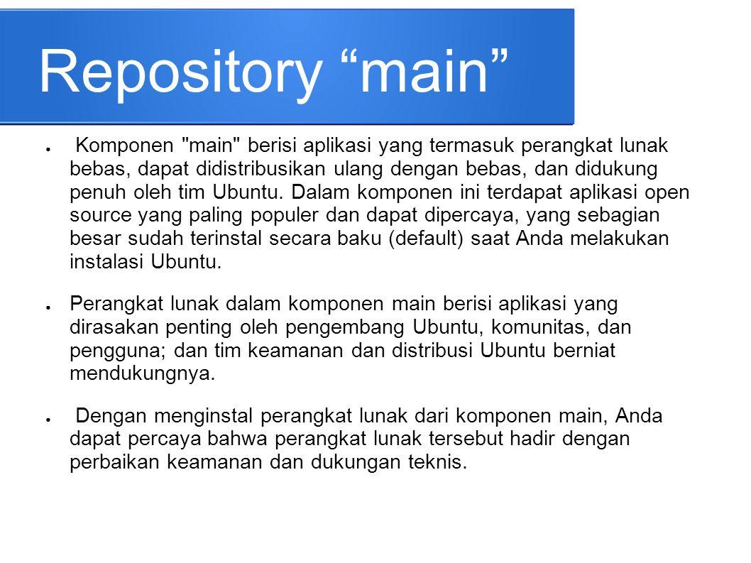 Repository main