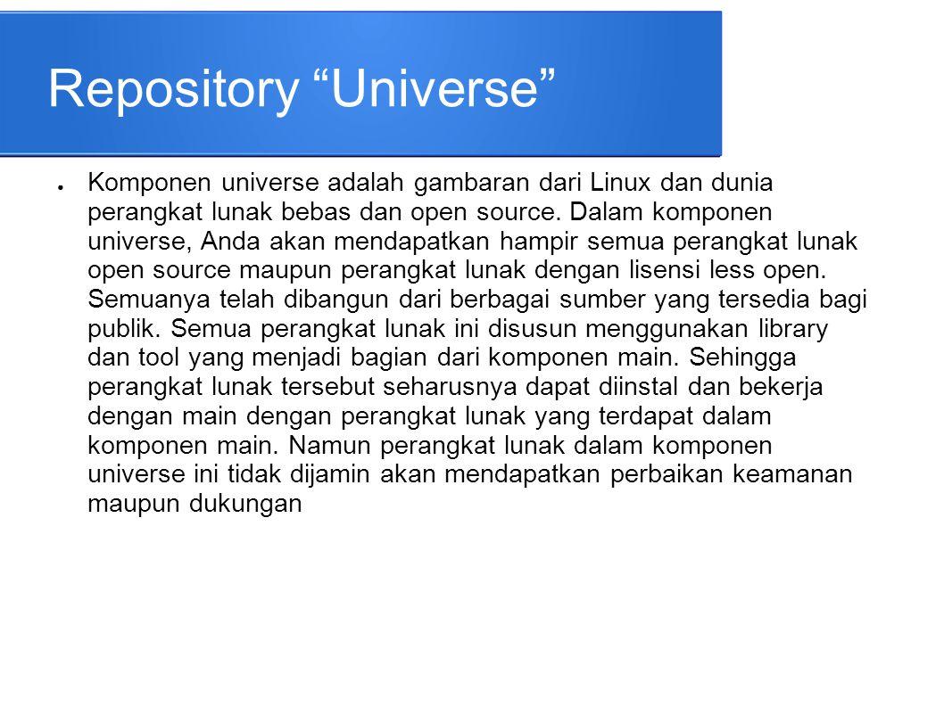 Repository Universe