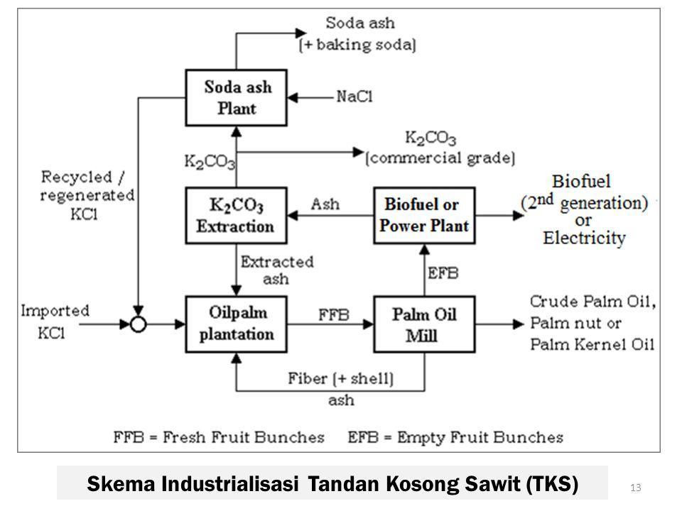 Skema Industrialisasi Tandan Kosong Sawit (TKS)