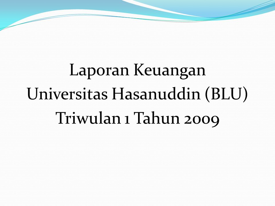 Universitas Hasanuddin (BLU)