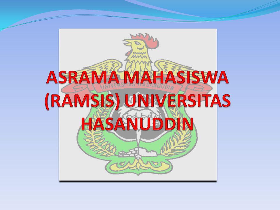ASRAMA MAHASISWA (RAMSIS) UNIVERSITAS HASANUDDIN