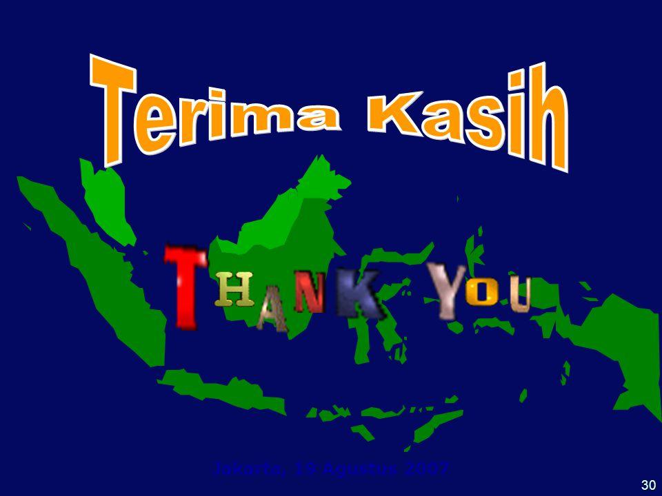 Terima Kasih Jakarta, 19 Agustus 2007 30
