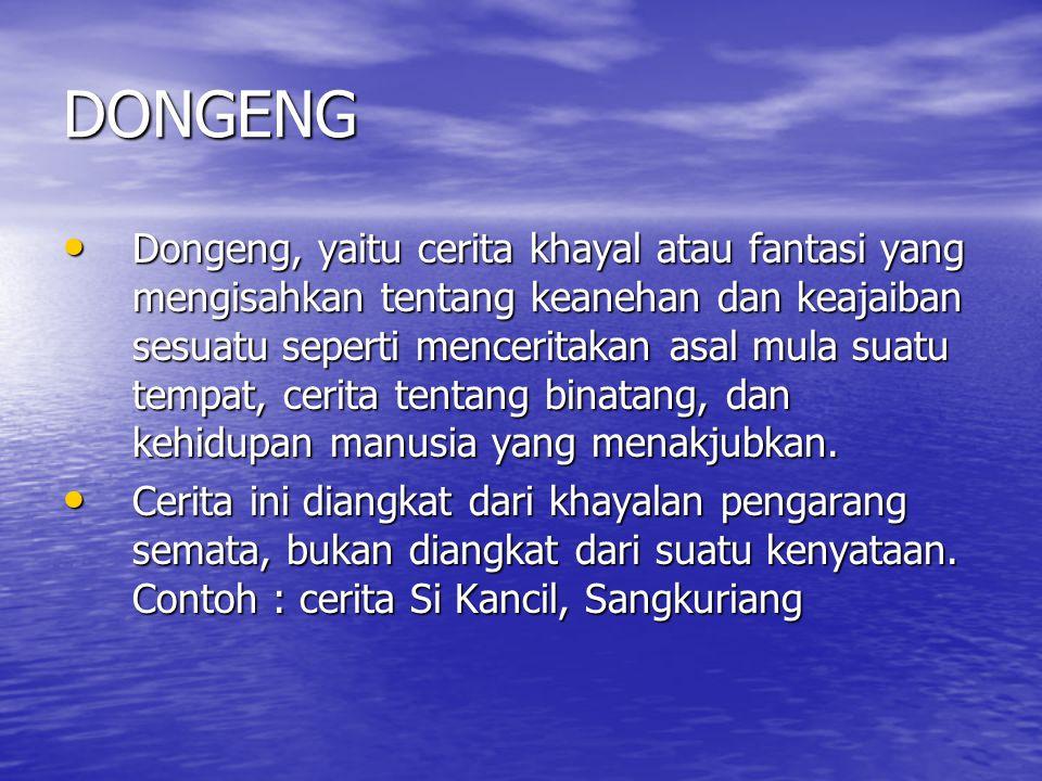 DONGENG