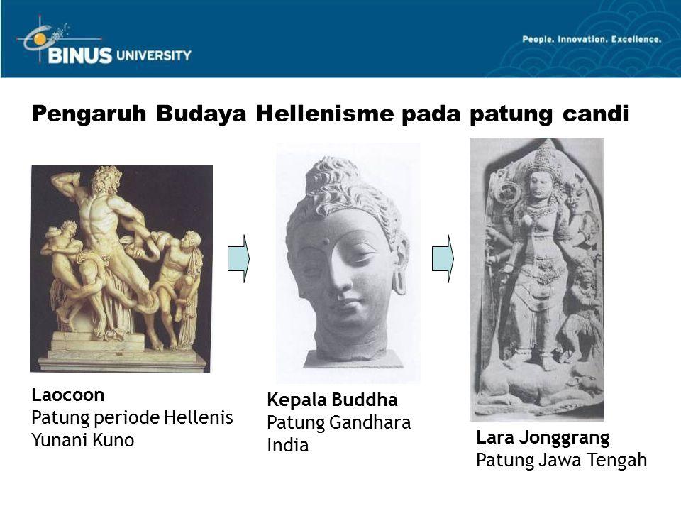 Pengaruh Budaya Hellenisme pada patung candi