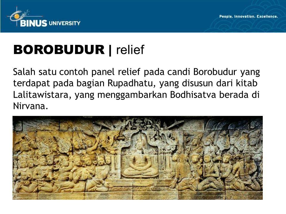 BOROBUDUR | relief