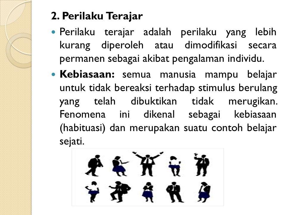 2. Perilaku Terajar