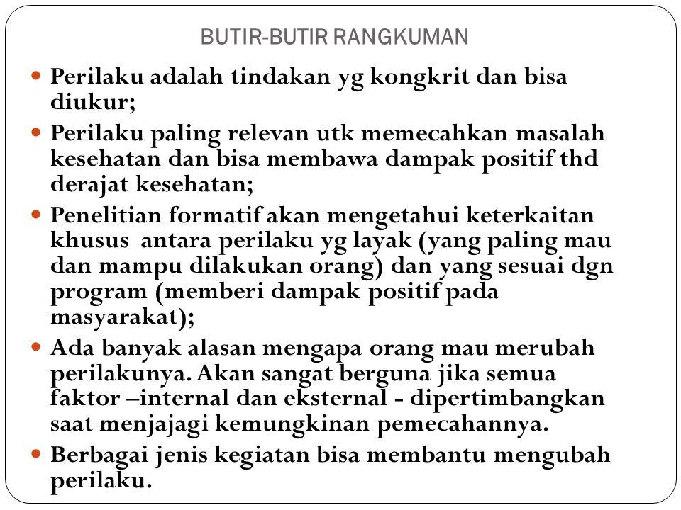 BUTIR-BUTIR RANGKUMAN