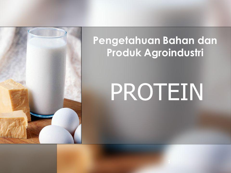 Pengetahuan Bahan dan Produk Agroindustri