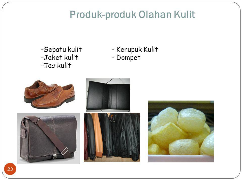 Produk-produk Olahan Kulit