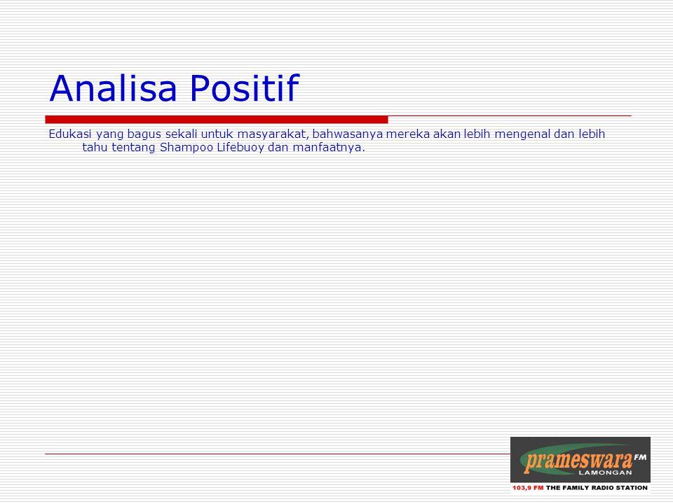 Analisa Positif