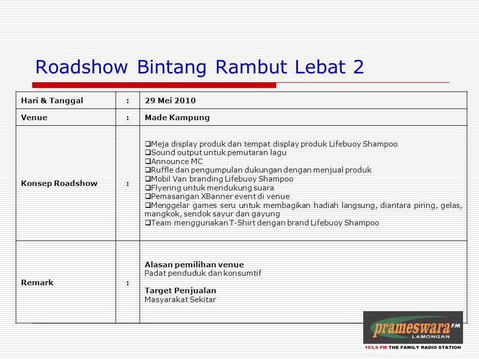 Roadshow Bintang Rambut Lebat 2