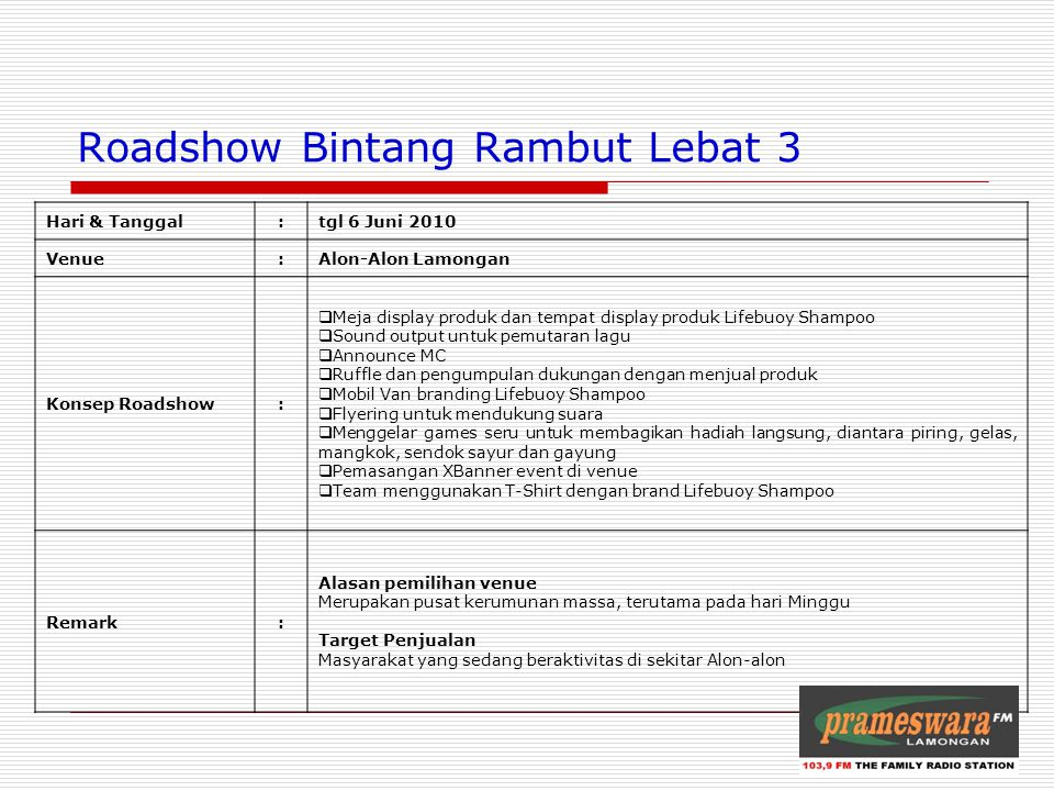 Roadshow Bintang Rambut Lebat 3