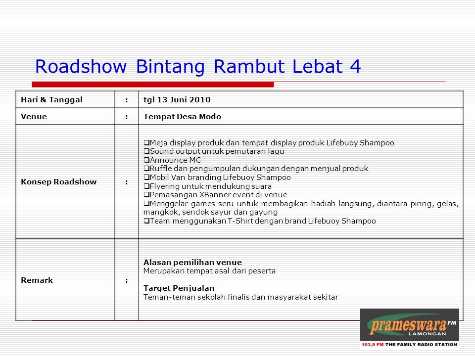 Roadshow Bintang Rambut Lebat 4