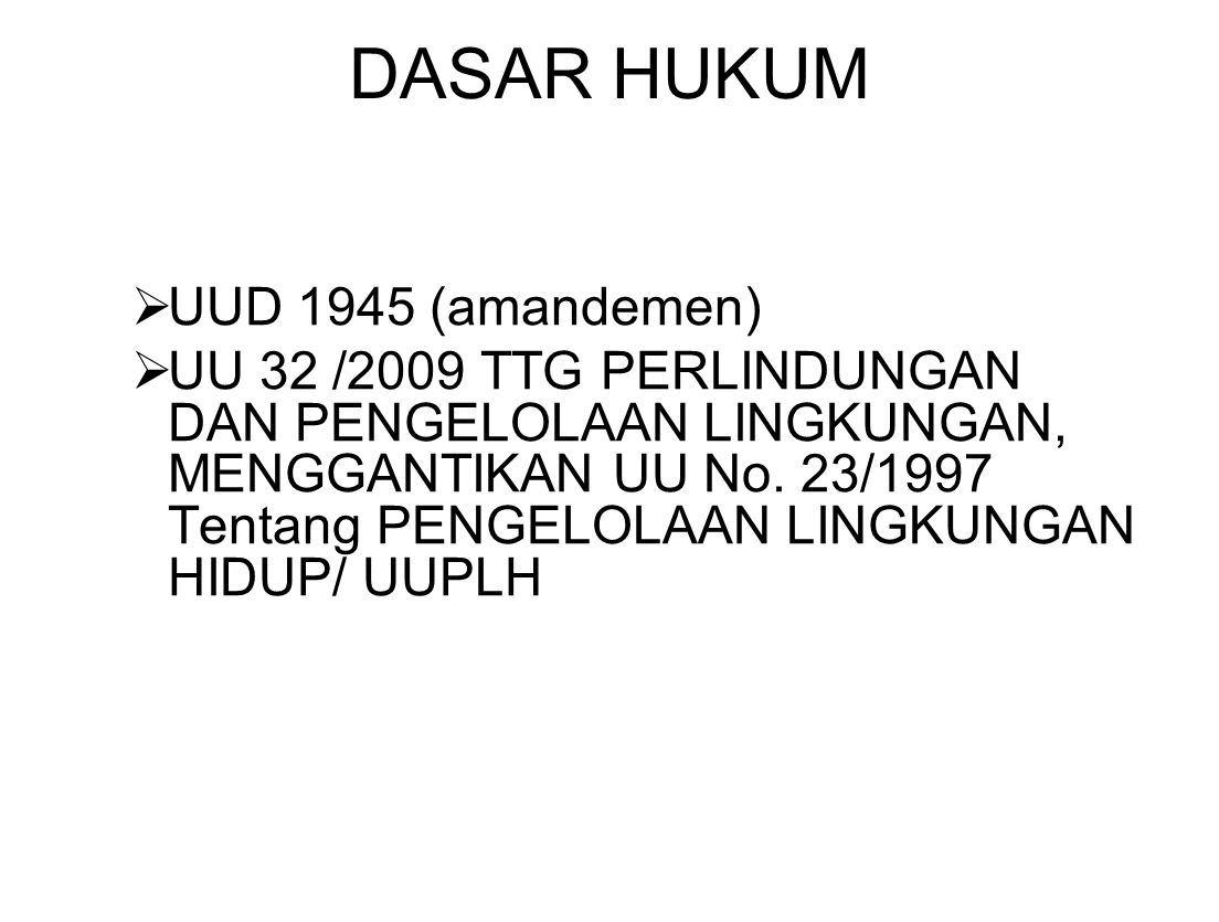 DASAR HUKUM UUD 1945 (amandemen)