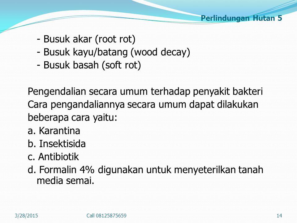 Perlindungan Hutan 5