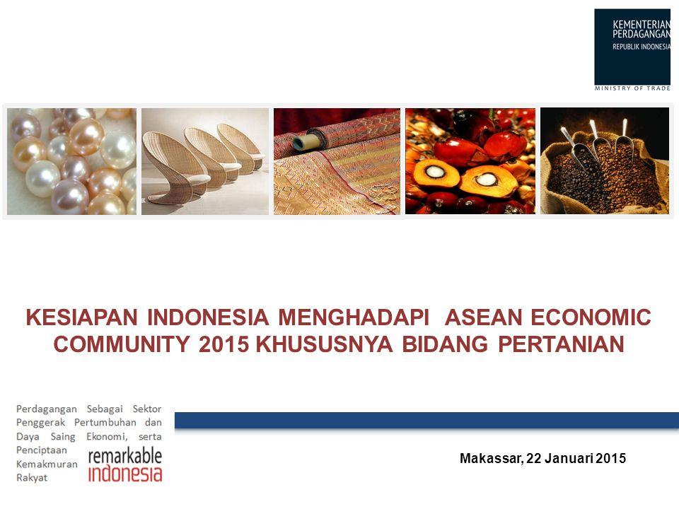 4/8/2017 4:36 PM Kesiapan indonesia menghadapi ASEAN Economic Community 2015 khususnya bidang pertanian.