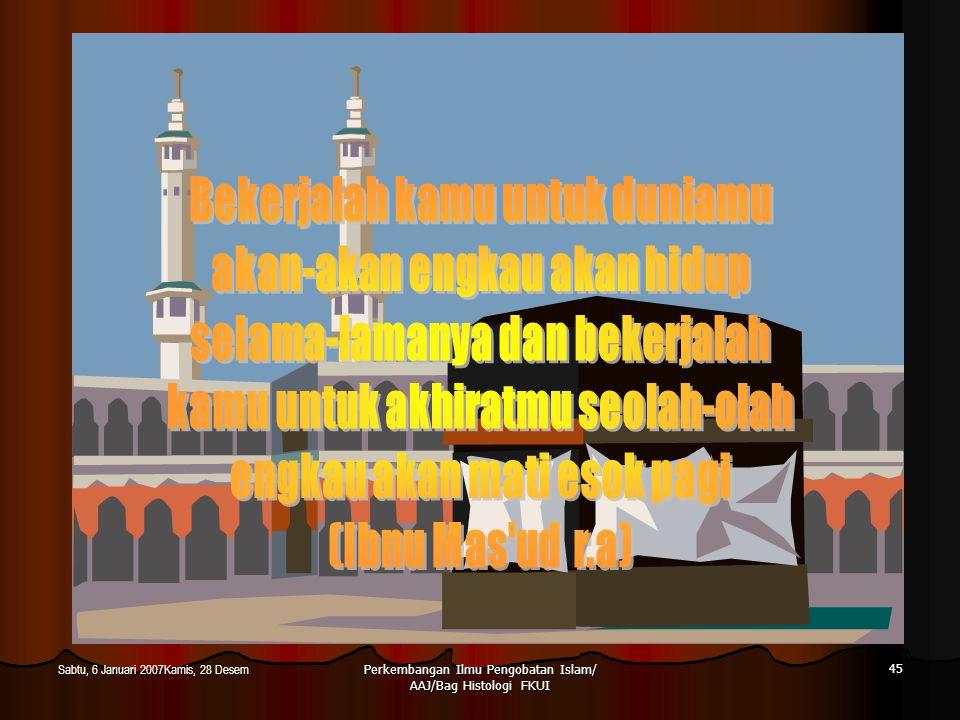 Ahmad Aulia Jusuf/ Bagian Histologi FKUI