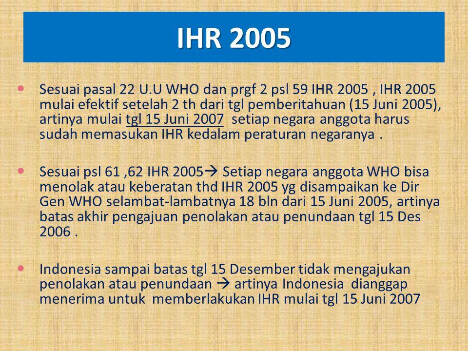 IHR 2005