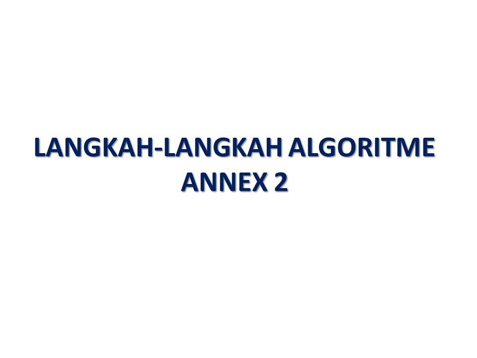 LANGKAH-LANGKAH ALGORITME ANNEX 2