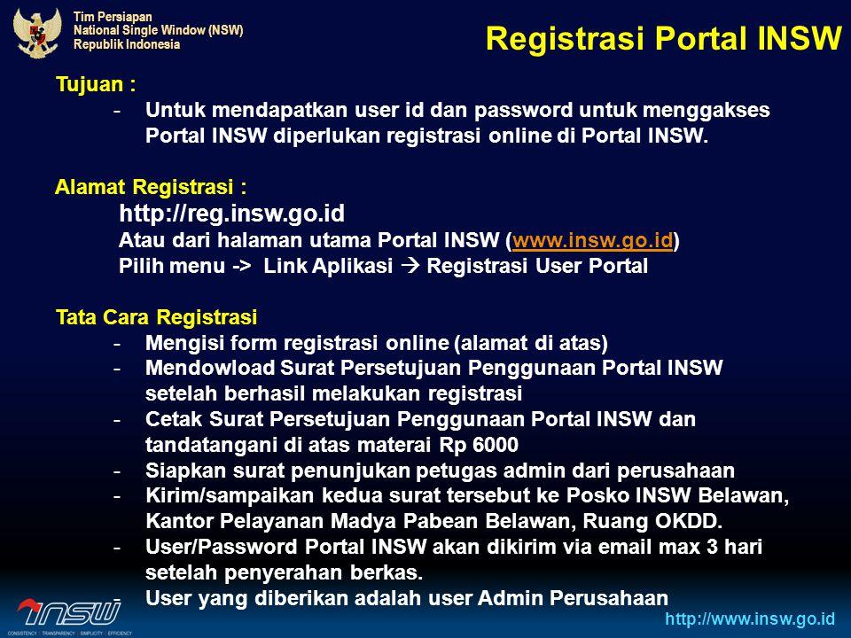Registrasi Portal INSW