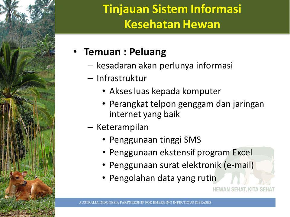 Tinjauan Sistem Informasi Kesehatan Hewan