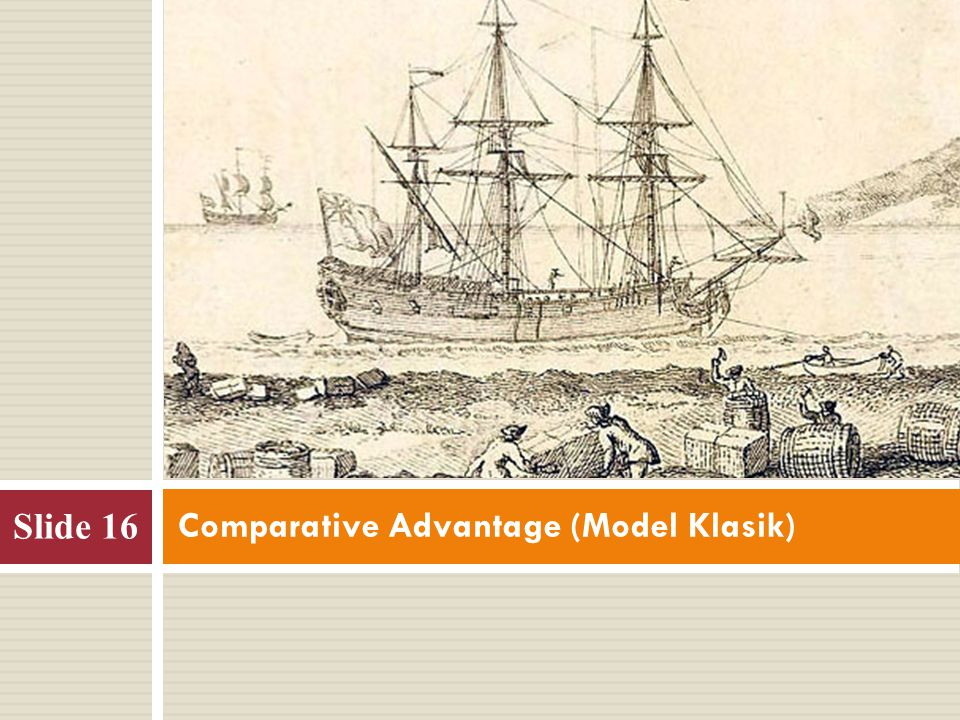 Comparative Advantage (Model Klasik)