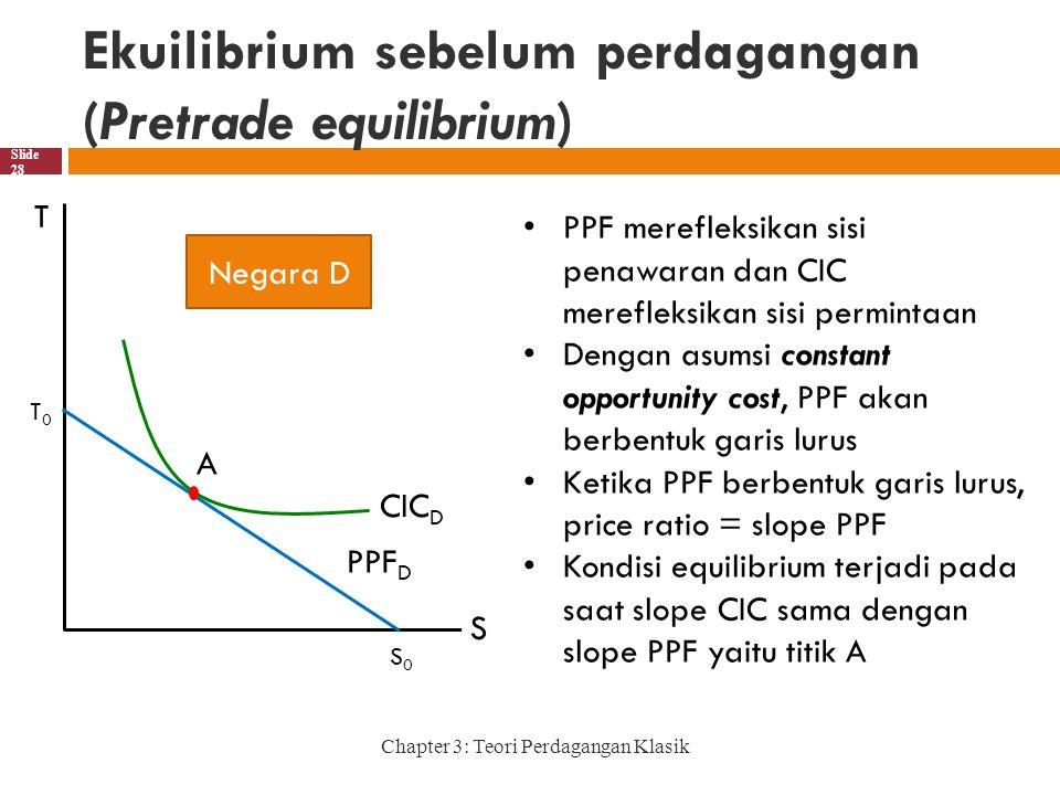 Ekuilibrium sebelum perdagangan (Pretrade equilibrium)