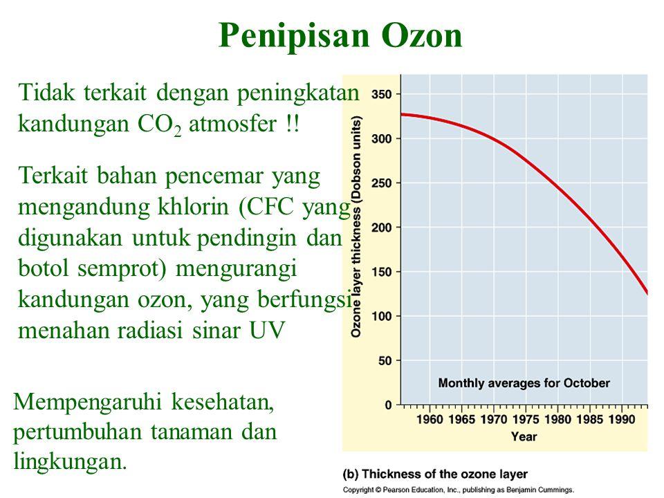 Penipisan Ozon Tidak terkait dengan peningkatan kandungan CO2 atmosfer !!