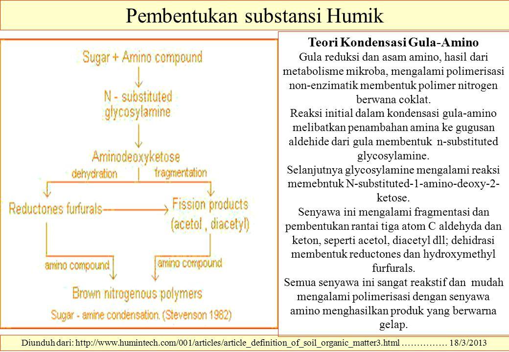 Teori Kondensasi Gula-Amino