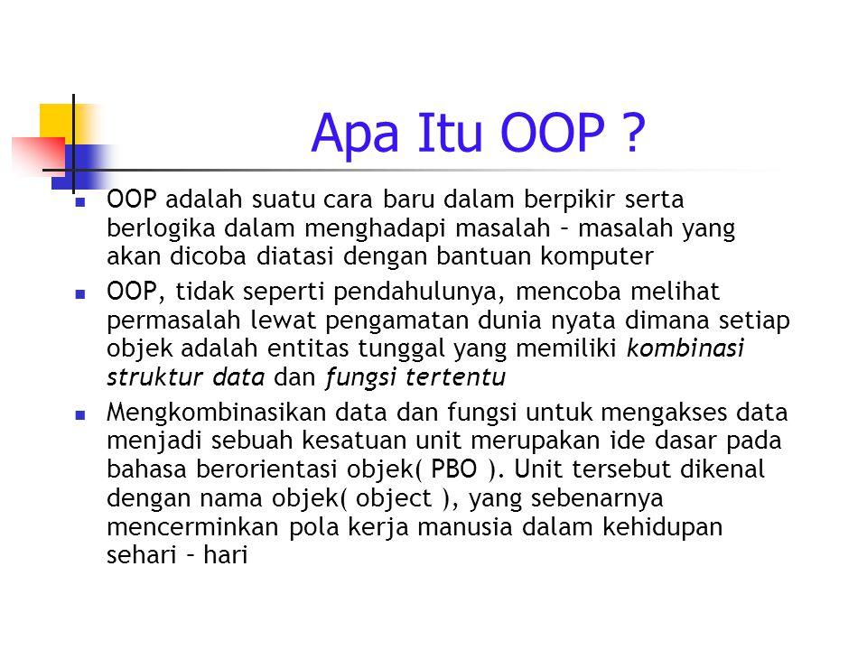 Apa Itu OOP