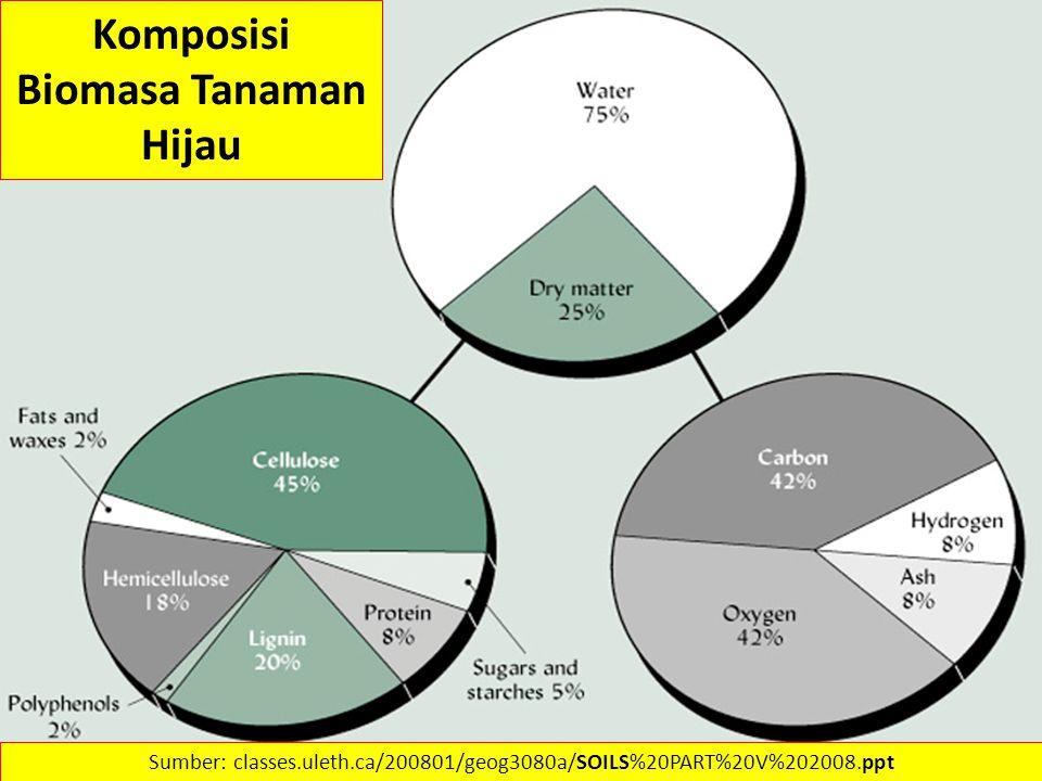 Komposisi Biomasa Tanaman Hijau
