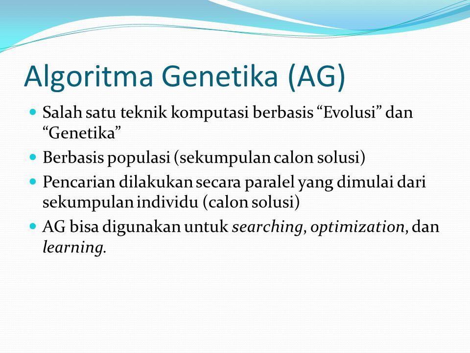 Algoritma Genetika (AG)
