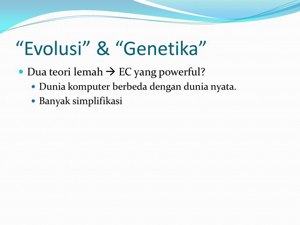 Evolusi & Genetika