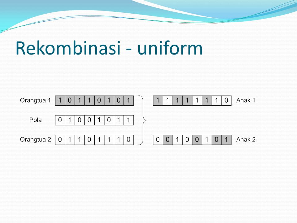 Rekombinasi - uniform