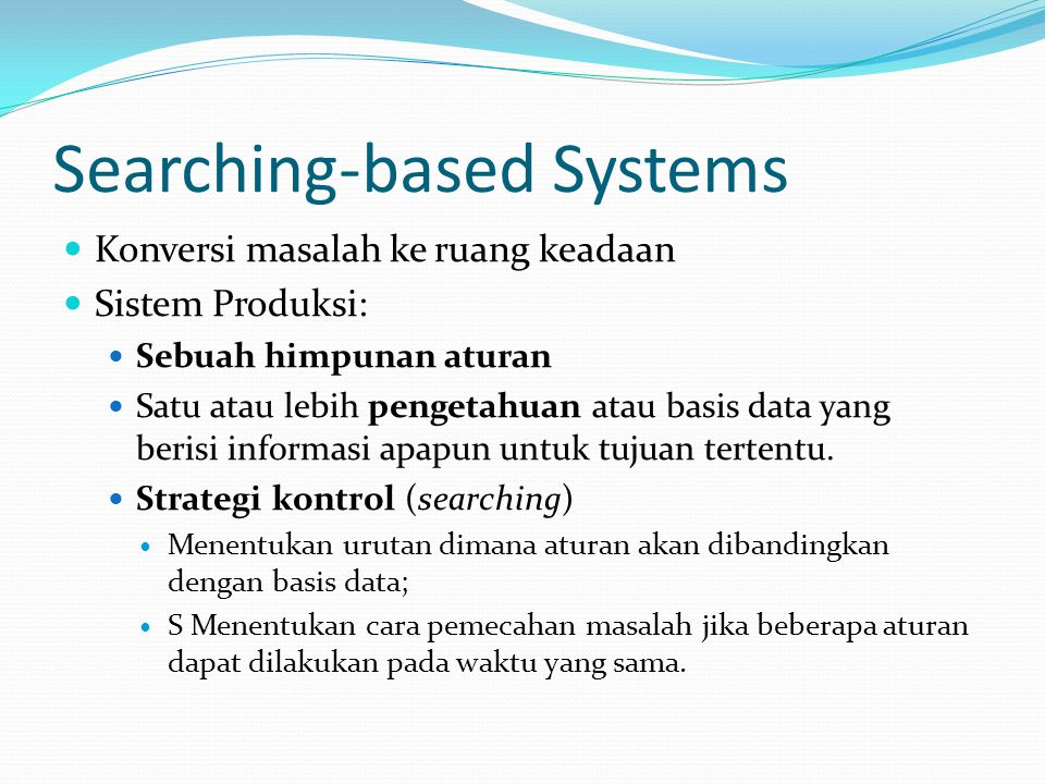 Searching-based Systems