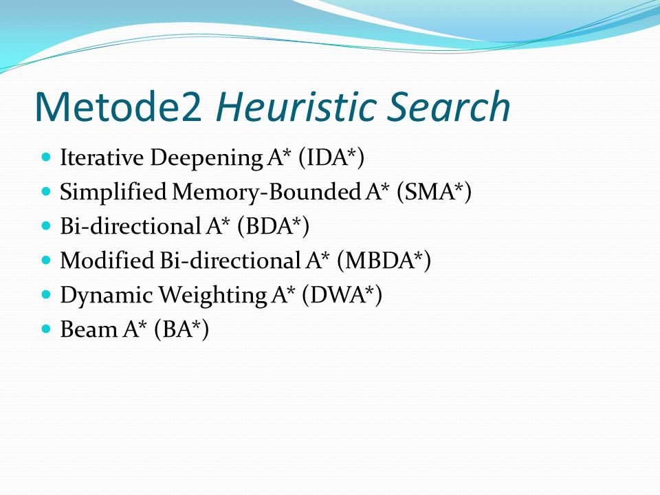 Metode2 Heuristic Search