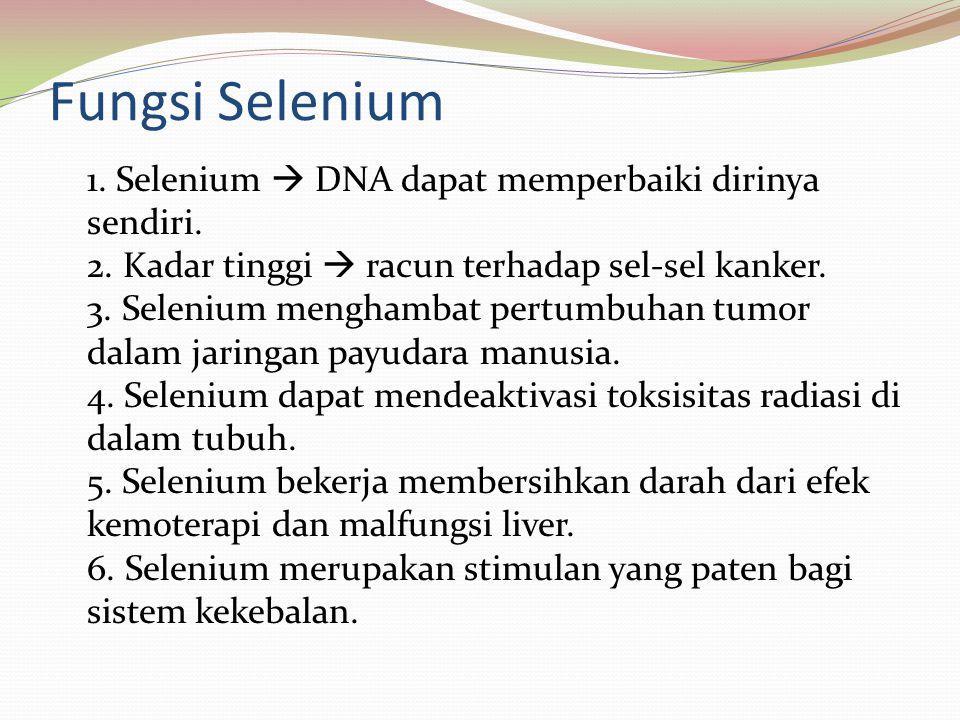 Fungsi Selenium
