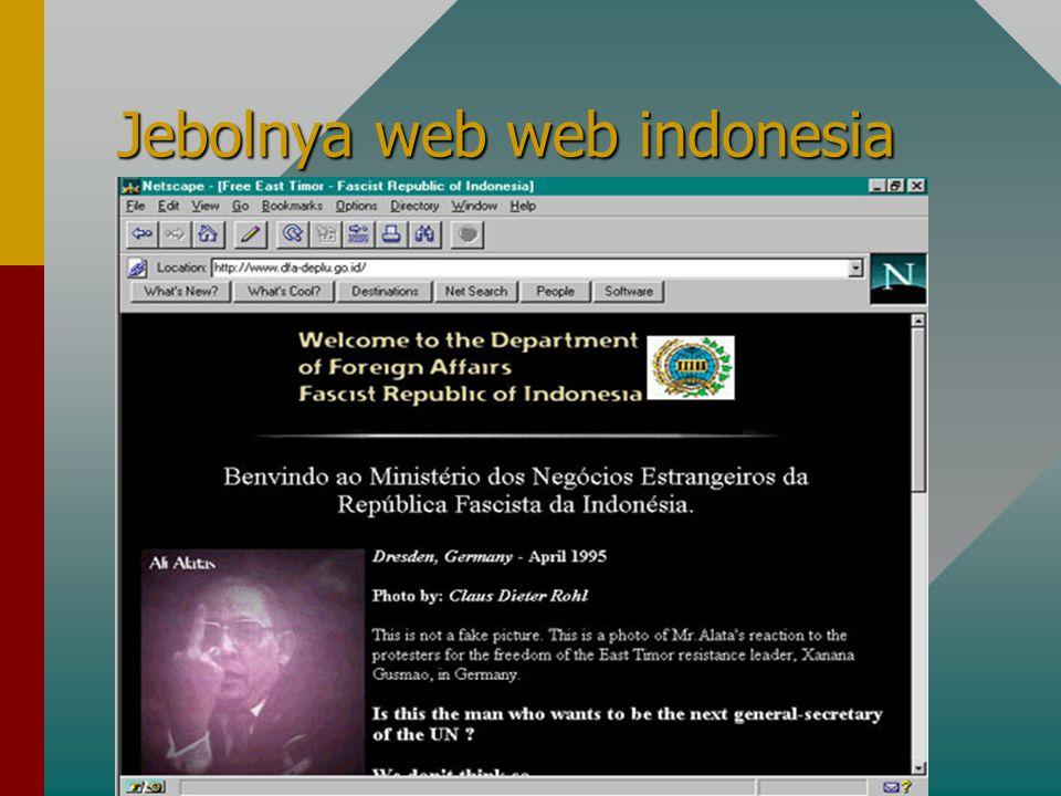 Jebolnya web web indonesia