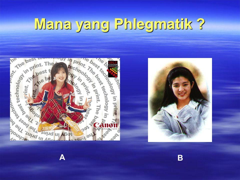 Mana yang Phlegmatik A B