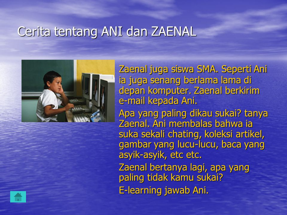 Cerita tentang ANI dan ZAENAL