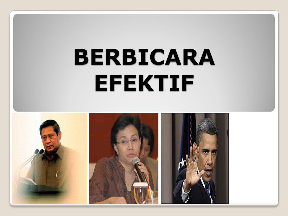 BERBICARA EFEKTIF