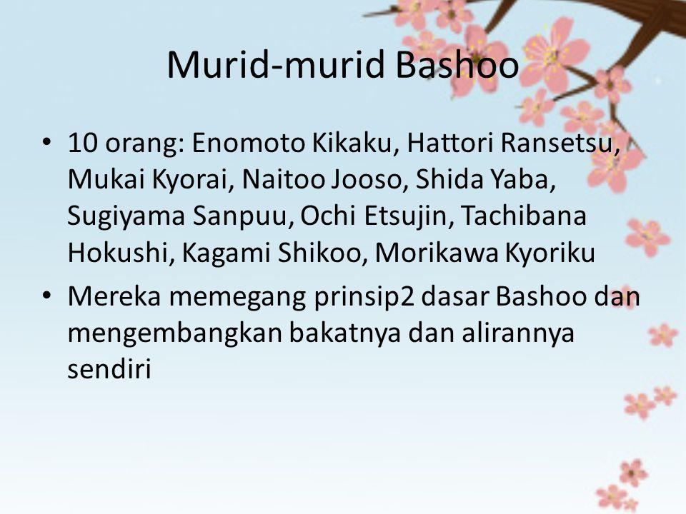 Murid-murid Bashoo
