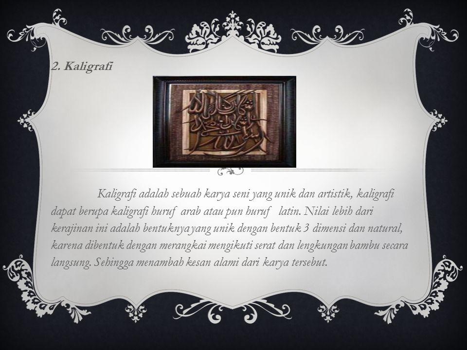 2. Kaligrafi