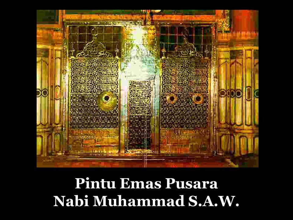 Pintu Emas Pusara Nabi Muhammad S.A.W.