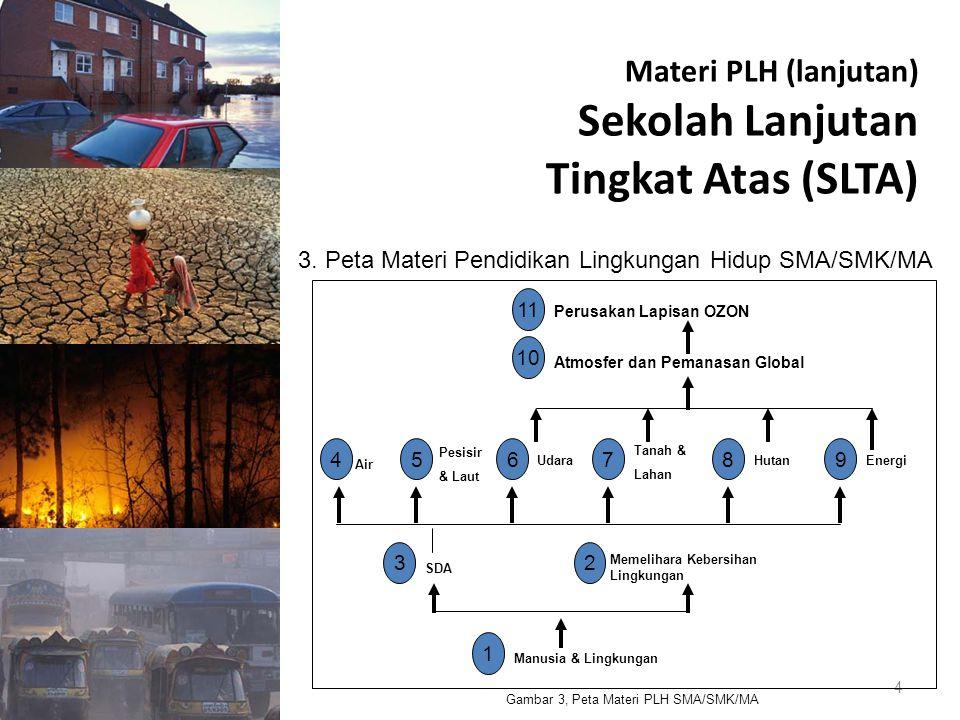 Materi PLH (lanjutan) Sekolah Lanjutan Tingkat Atas (SLTA)
