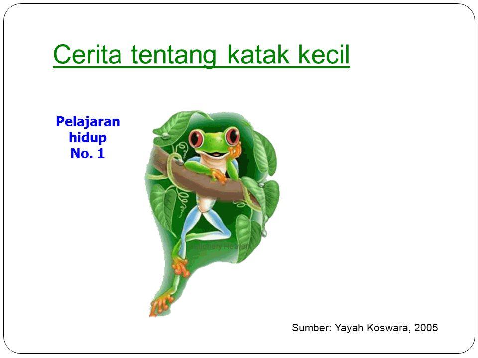 Cerita tentang katak kecil