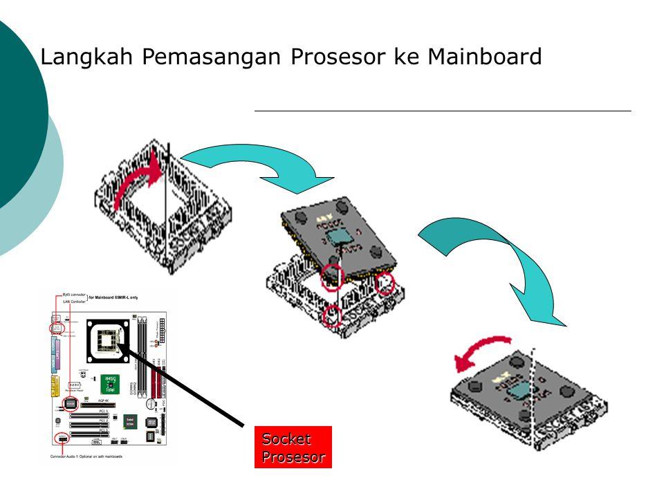 Langkah Pemasangan Prosesor ke Mainboard